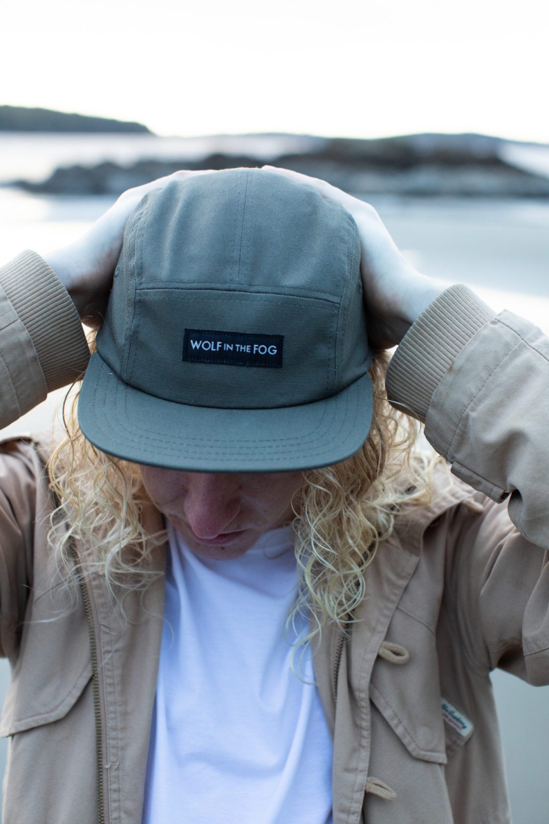 5 Panel Hat in Forest Green
